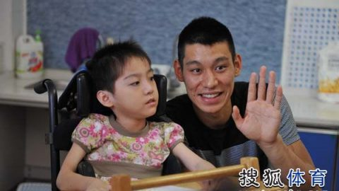 Like Chang, Jeremy Lin shares his compassion with the Prince of Peace Orphanage
