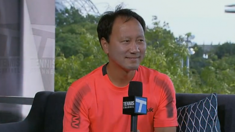 Tennis Channel Interview with Chang at the 2013 US Open