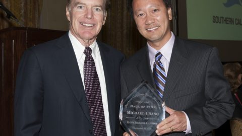 Chang Inducted Into the Southern California Tennis Association Hall of Fame