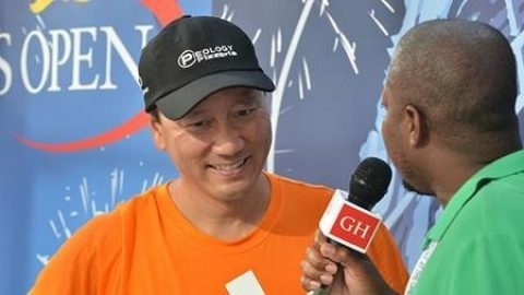 The Gospel Herald Catches Up With Michael Chang at the US Open